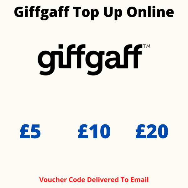 Giffgaff Top Up Online