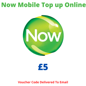 Now Mobile Top Up Online