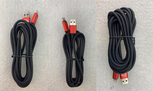 Braided USB 3.0 Fast Data Sync Quick Charger Cable For iPhone
